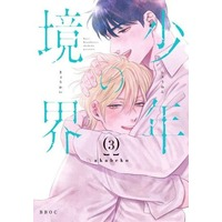 Manga Set Boys' Boundaries (Shounen no Kyoukai) (3) (■未完セット)少年の境界 1~3巻)  / Akabeko
